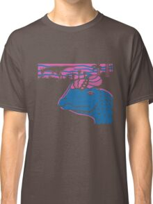 Dilophosaurus Duo - Magenta and Blue Classic T-Shirt