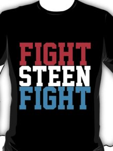 Fight Steen Fight (Red/White/Blue) T-Shirt