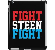 Fight Steen Fight (Red/White/Blue) iPad Case/Skin