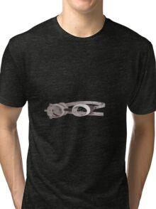 """lost"" Captin goggles Tri-blend T-Shirt"