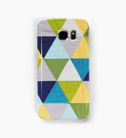 Triangle quilt Samsung Galaxy Case/Skin
