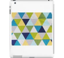 Triangle quilt iPad Case/Skin