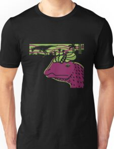Dilophosaurus Duo - Green and Purple T-Shirt