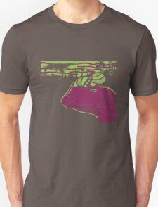 Dilophosaurus Duo - Green and Purple T-Shirt