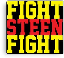 Fight Steen Fight (Red/Yellow) Canvas Print
