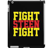 Fight Steen Fight (Red/Yellow) iPad Case/Skin