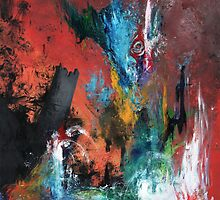 Balance - Abstract Painting 1  by Ryley Bryanton