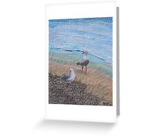 Seagull Duo Greeting Card