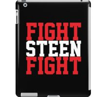 Fight Steen Fight (Red/White) iPad Case/Skin