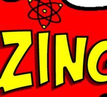 Bazinga! 2 Sticker
