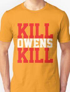 Kill Owens Kill (Red/White) Unisex T-Shirt