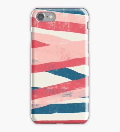 Woven Ribbons abstract  iPhone Case/Skin