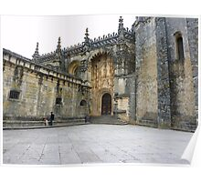 Convent of Christ - Tomar Portugal Poster