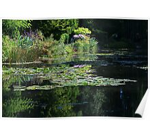 Monet's Garden - Lily Pond Poster