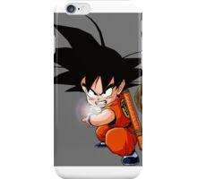 goku kids , dragon ball z  iPhone Case/Skin