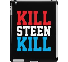 Kill Steen Kill (Red/White/Blue) iPad Case/Skin