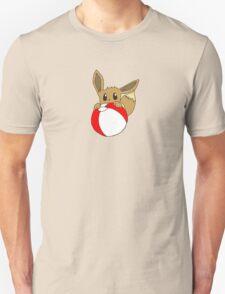 Eevee Noming Beach Ball T-Shirt