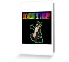 Did Somebody say Autism? Greeting Card