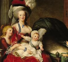 Marie-Antoinette of Lorraine-Habsbourg, queen of France and her children by alexklp
