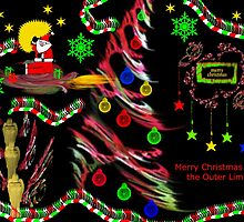 Rocking Around the Christmas Tree in the Outer Limits by Charldia