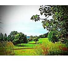 A Picturesque Country View Photographic Print