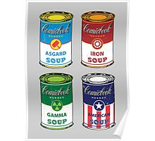 Soup Assemble Poster