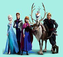 Frozen Characters by pentel