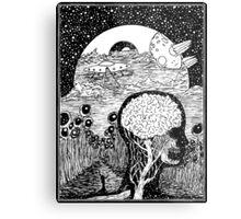 Paradox Moon Metal Print
