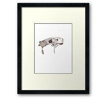 """lost"" Steampunk head gear Framed Print"