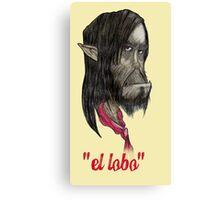 """Pedro """"el lobo"""" Garcia-Gomez Canvas Print"""