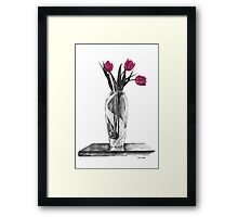 Tulips are Red............ Framed Print