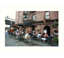 South Sea Seaport NYC Art Print