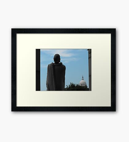 Roger Williams and the State House Framed Print