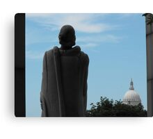 Roger Williams and the State House Canvas Print