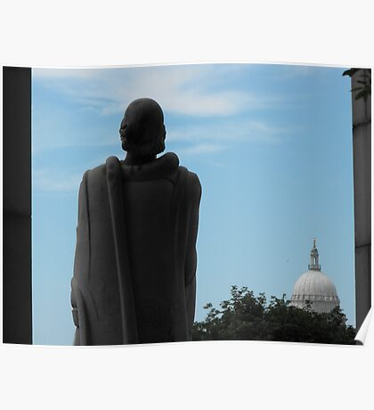 Roger Williams and the State House Poster