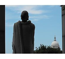 Roger Williams and the State House Photographic Print