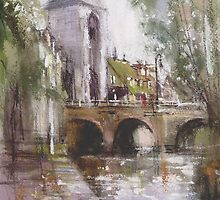 Sketch of France ....Moret-sur-Loing 1 by vasenoir