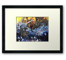 The Wraiths Of War Framed Print