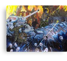 The Wraiths Of War Canvas Print