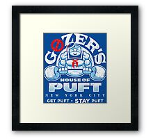House of Puft Framed Print