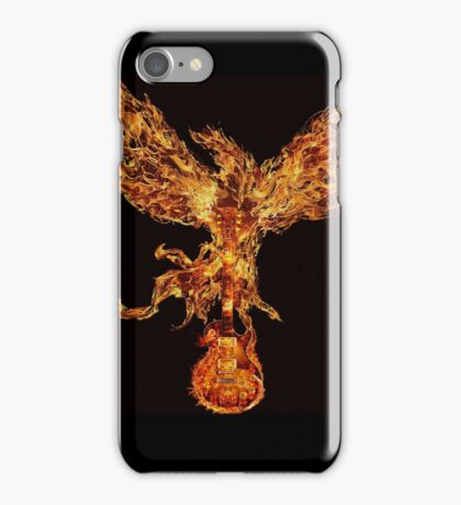Gibson fire phoenix  iPhone Case/Skin