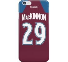 Colorado Avalanche Nathan MacKinnon Jersey Back Phone Case iPhone Case/Skin