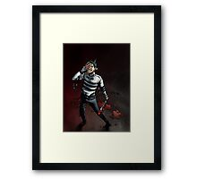 Sanity is Overrated Framed Print