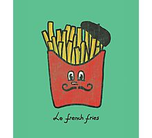 Le French fries Photographic Print