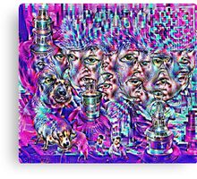 Liquid Engineering Canvas Print