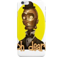 Vintage C3PO iPhone Case/Skin