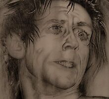 Study of Iggy Pop by Tony Kurbanali