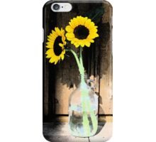 Sun Flowers ~ Digital Art Photography iPhone Case/Skin