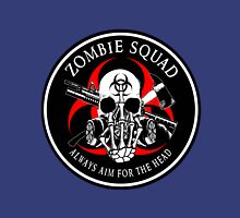 Biohazard Zombie Squad Always aim for the head F U Ring Patch outlined Unisex T-Shirt