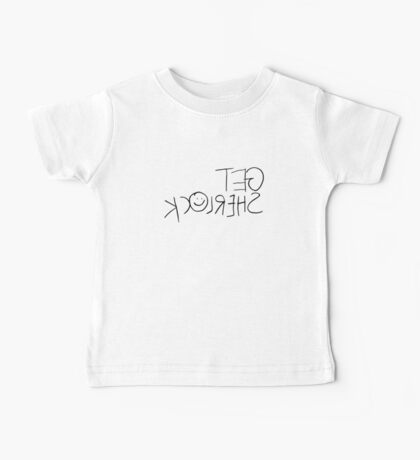 Get Sherl☺ck (Mirror) Baby Tee
